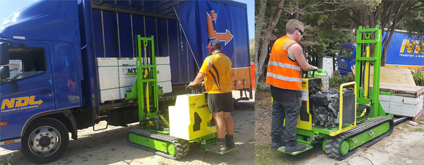 freight Services minature portable forklift